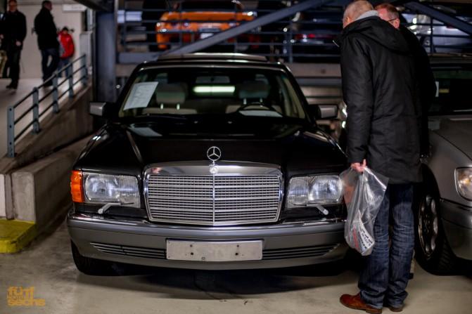 W126 auf der Gebrauchtwagenbörse