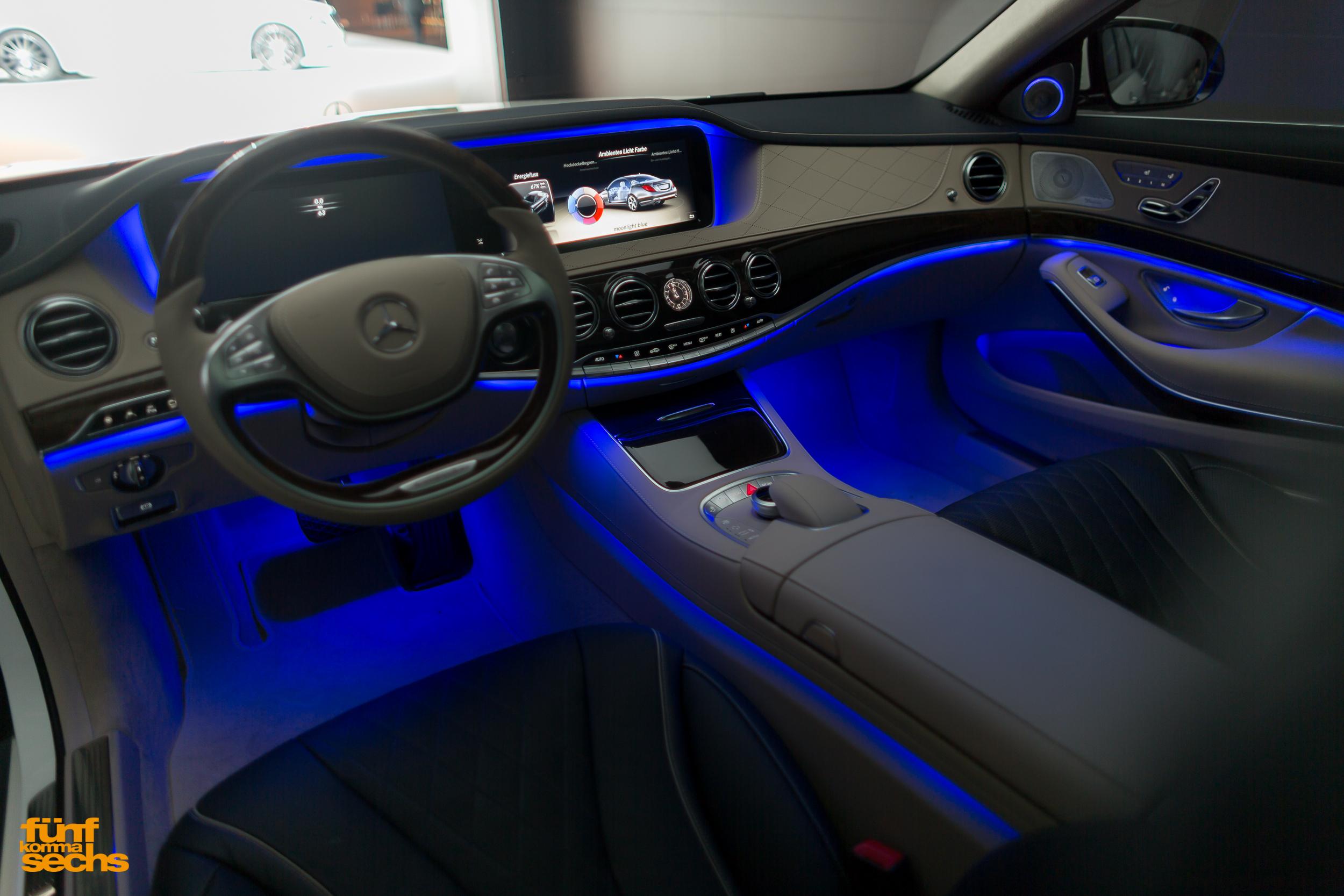 Ambientebeleuchtung Mercedes A Klasse