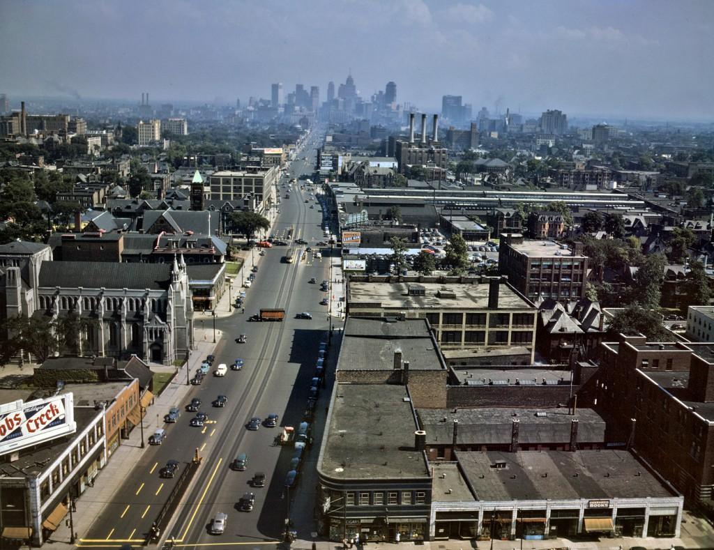 Detroit im Jahr 1942