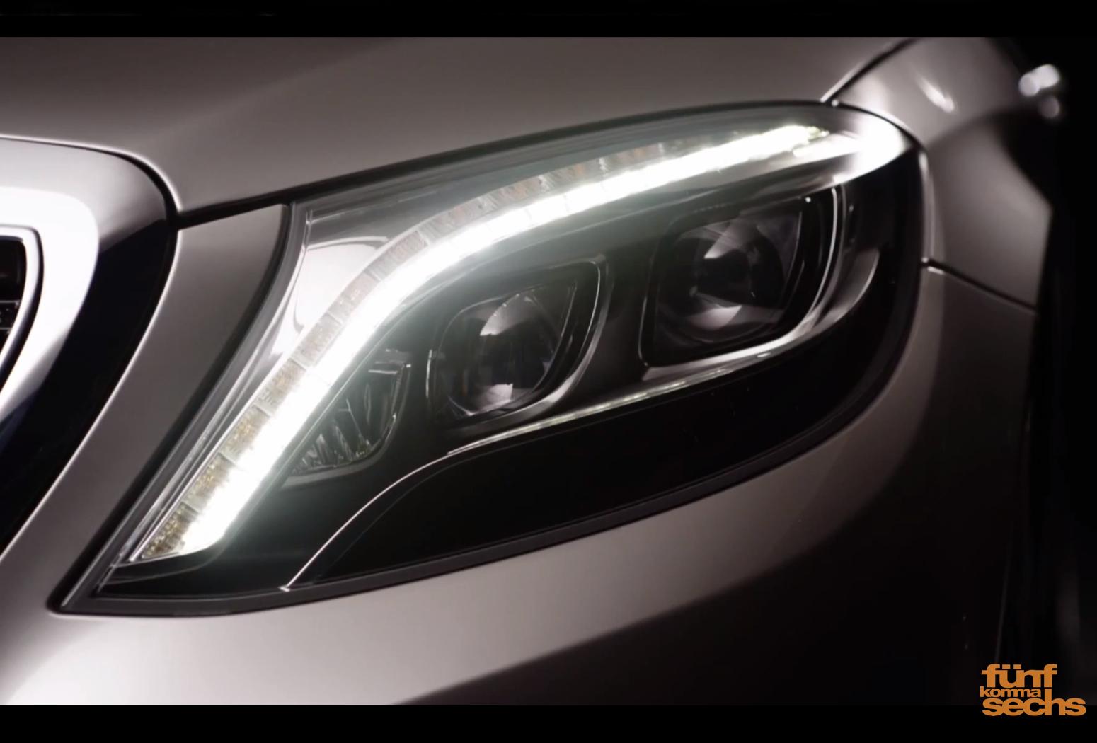 LED Intelligent Light System (SA 642) in der neuen S-Klasse
