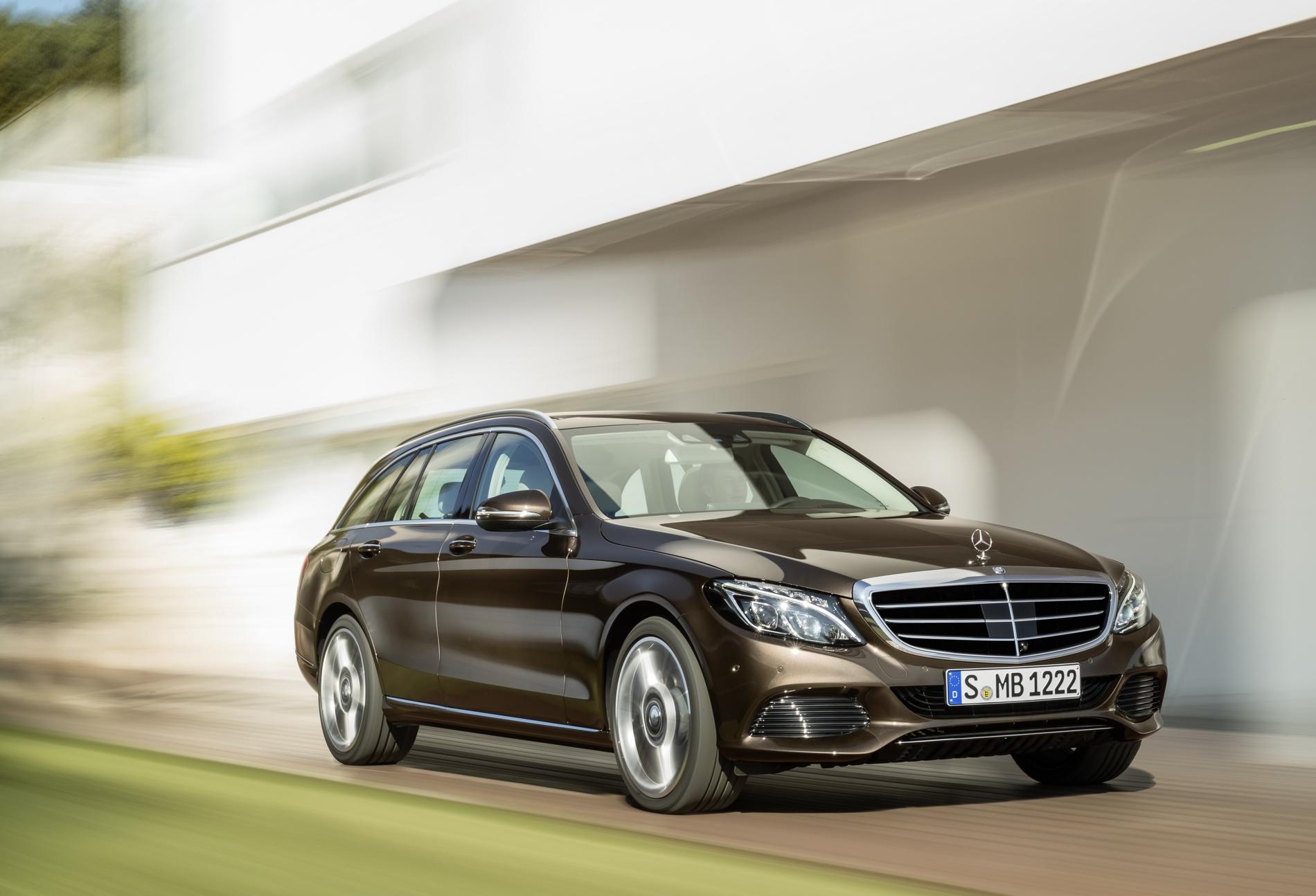 Endlich volljährig Das neue Mercedes C Klasse T Modell ist da S205