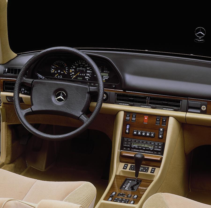 W126_Innenraum_1985
