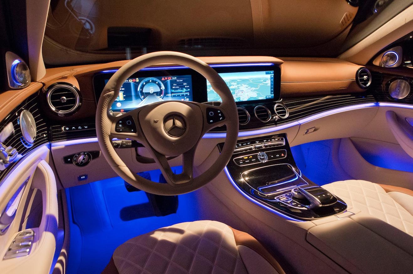 Das interieur design der neuen mercedes e klasse w213