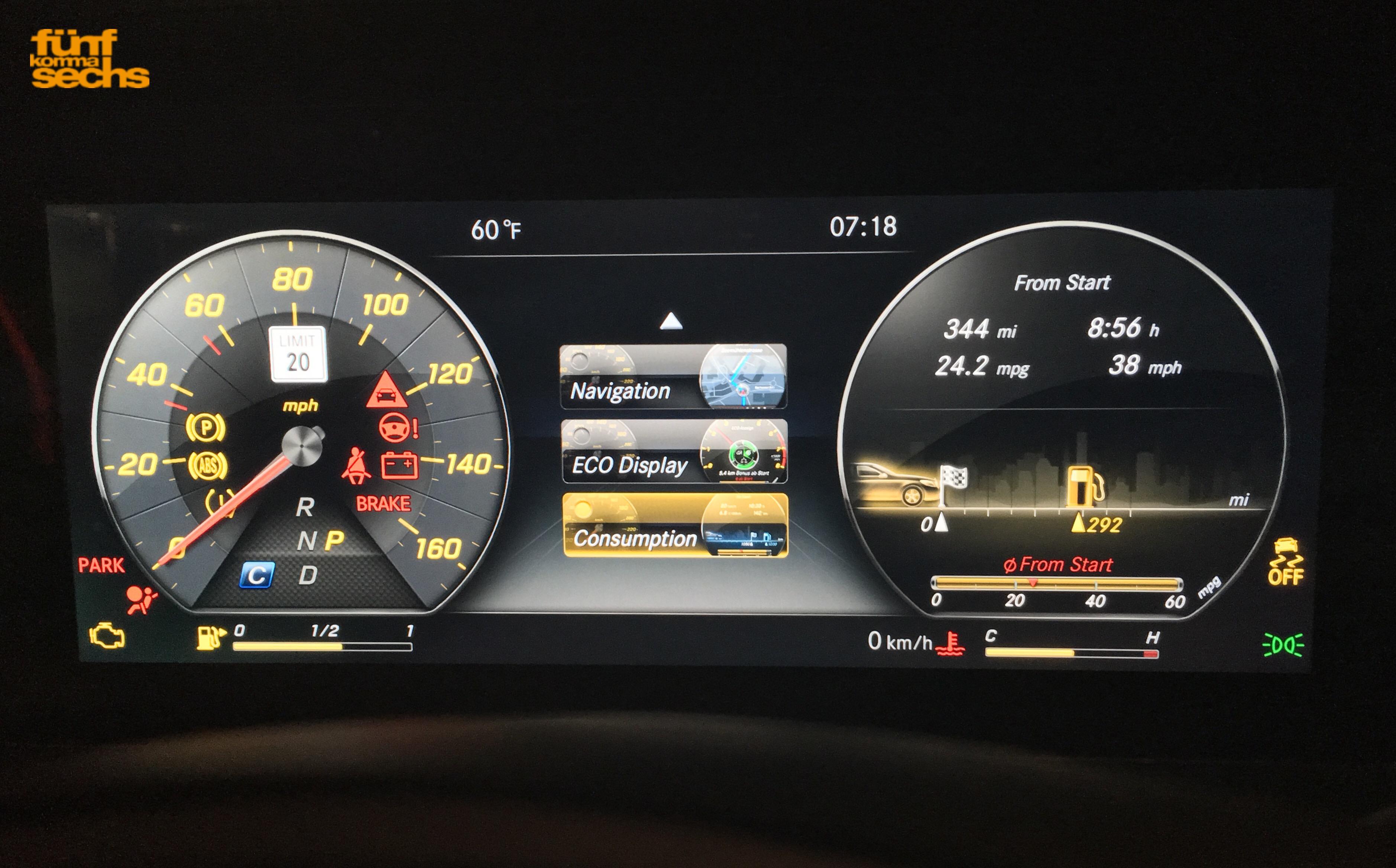 Das Interieur-Design der neuen Mercedes E-Klasse (W213 ...