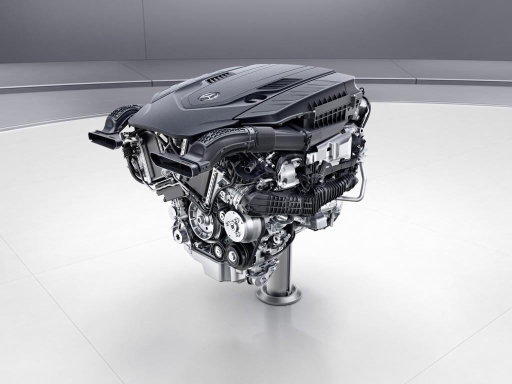 Mercedes-Benz V8-Biturbo-Benzinmotor, M176