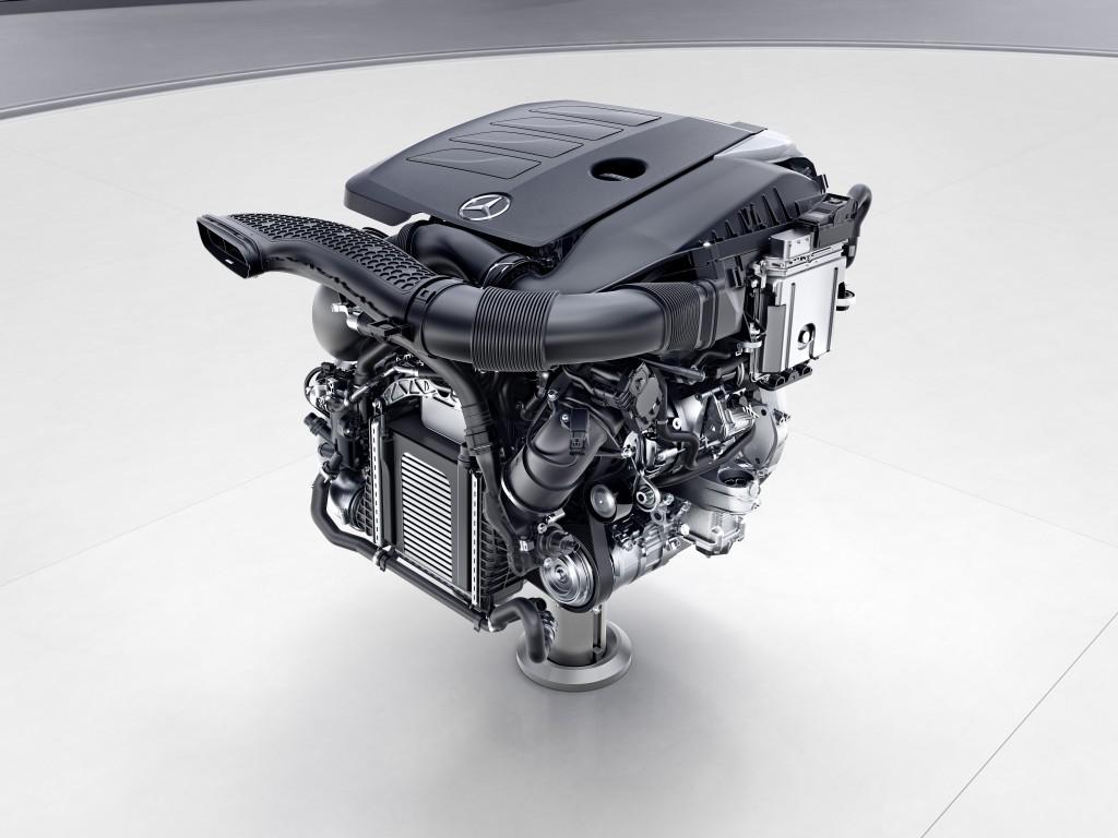 Mercedes-Benz Vierzylinder-Benzinmotor, M264