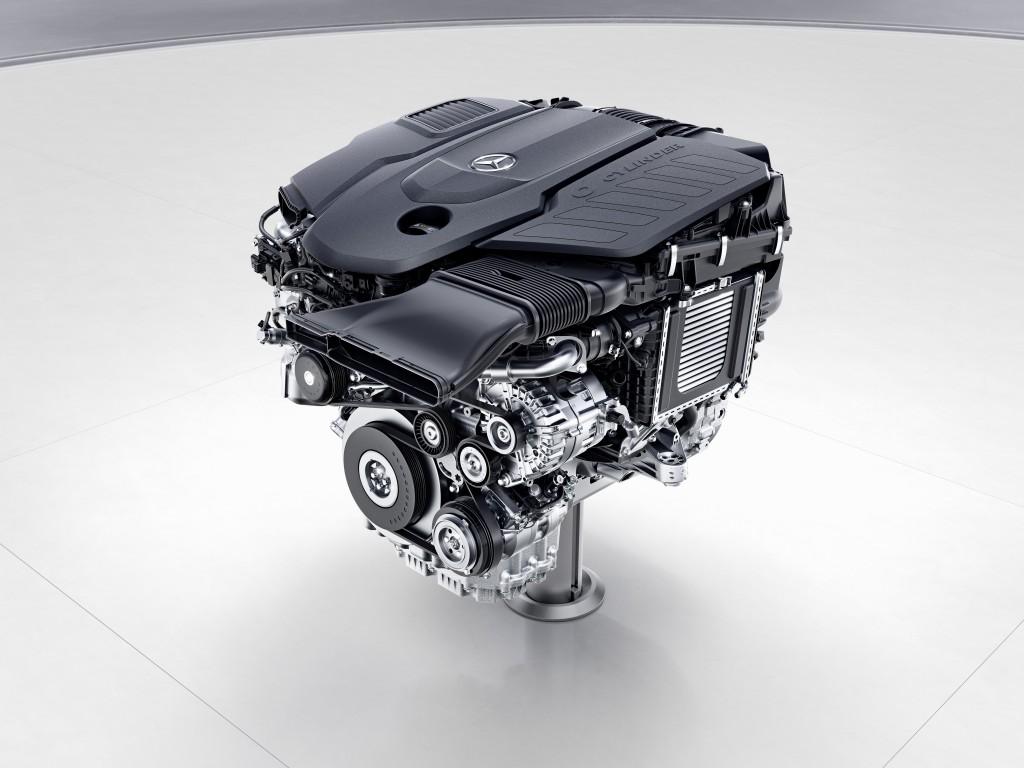 Mercedes-Benz Sechszylinder-Dieselmotor, OM656