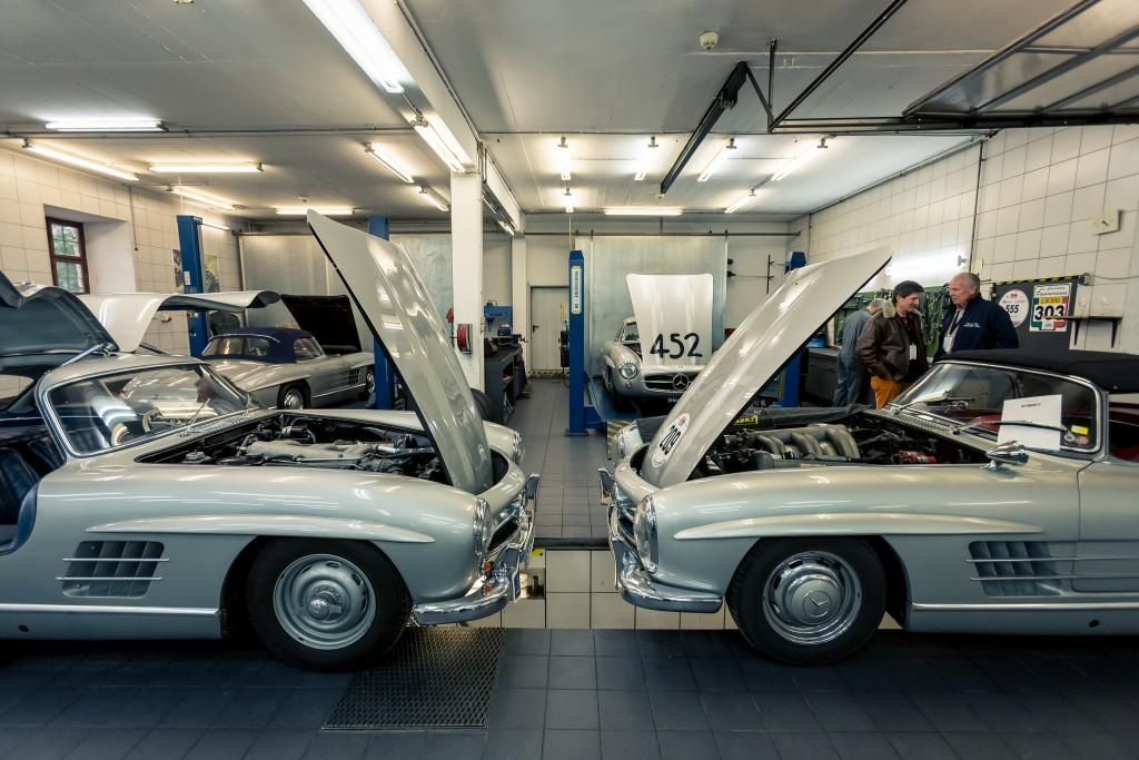 300 SL Flügeltürer und Roadster